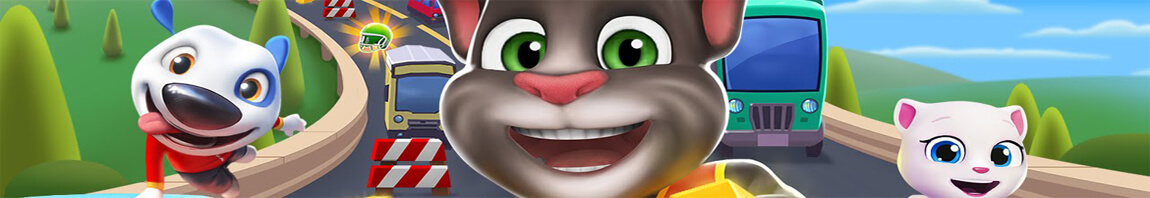 Game Talking Tom Gold Run online